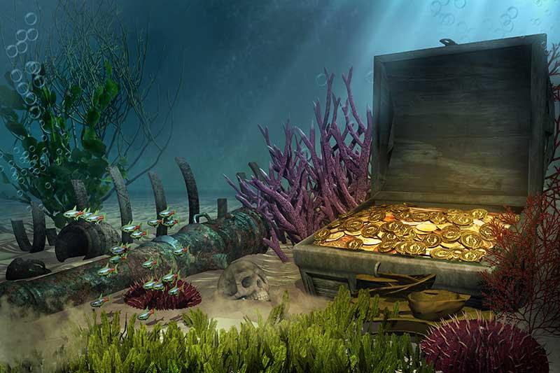 Sunken Treasure Ships: Riches up for Grabs! | JAKE Blog